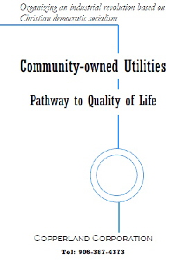 Copperland brochure: Community-owned Utilities